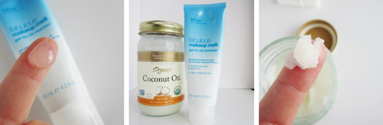 Bliss Fabulous Makeup Melt vs. Coconut Oil
