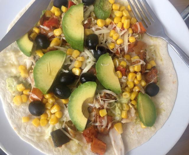 My recipe: 'Giraffe-style' Huevos Rancheros – or Mexican open wrap