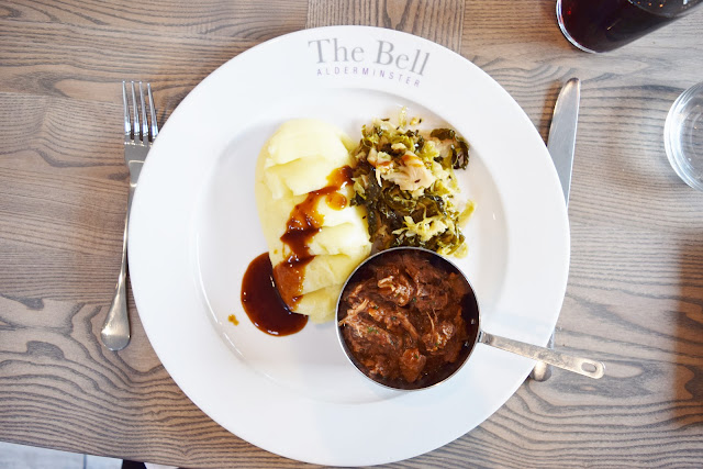 The Bell Alderminster food
