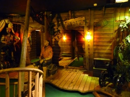 Adventure Golf in Whitby