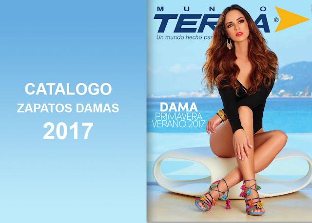 Nuevo Catalogo de zapatos damas mundo terra 2017 PV