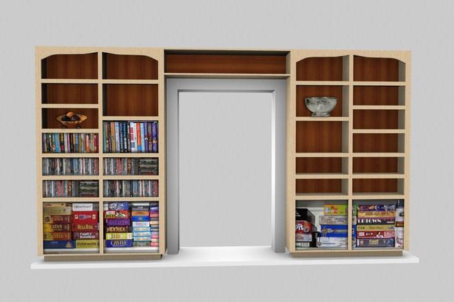 Desain Rak Buku Minimalis Untuk Rumah Sederhana Hingga