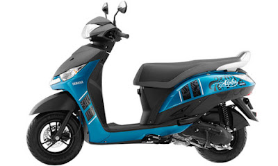 Yamaha Alpha Scooter side image Hd