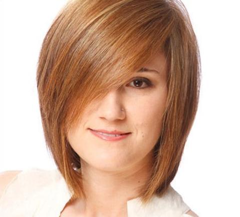 model rambut bob wanita gemuk terbaru