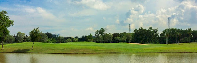 View of Padang Golf Sukajadi Batam, Indonesia