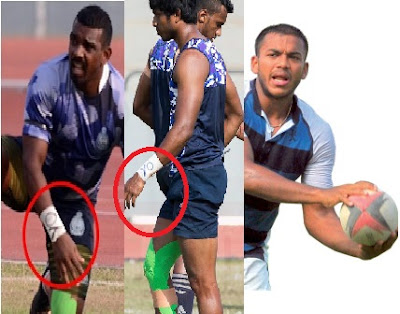 Inquiry On Navy Ruggerites For Armbands Supporting Yoshitha Rajapaksa