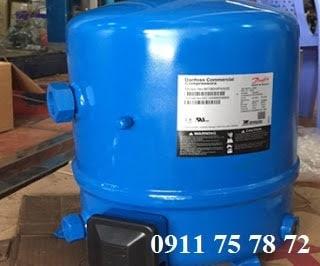 Thay Block máy lạnh Danfoss MT80 7HP cho hệ thống lạnh công nghiệp
