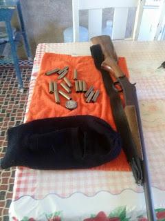 PM de Carnaúba dos Dantas apreende arma de fogo que estava de posse de um menor
