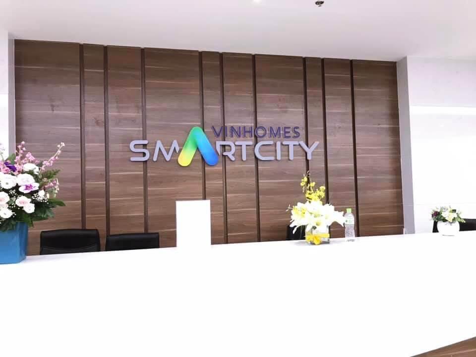 Sảnh đón tiếp khách hàng dự án Vinhomes Smart City