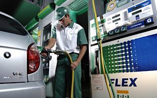 Petrobras aumenta preço da gasolina em 8,1% e do diesel em 9,5%