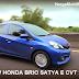Review Honda Brio Satya E CVT 2017
