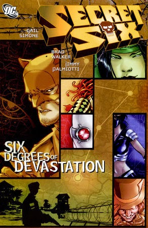 Secret Six Degrees of Devastation Cover Gail Simone