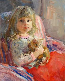 retrato-niña-y-mascota
