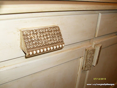 decorative wood molding drawer handles