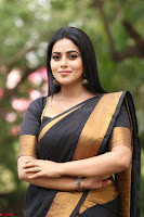 Poorna in Cute Backless Choli Saree Stunning Beauty at Avantika Movie platinum Disc Function ~  Exclusive 122.JPG