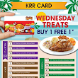 Kenny Roger Roaster : Buy 1 FREE 1 Every Wednesday