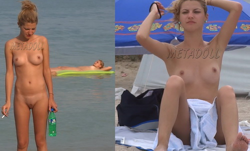 NudeBeach bb14021-14027 (Nude Girls Beach Voyeur)