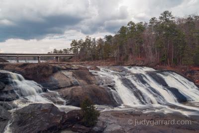 High Falls Dam and falls