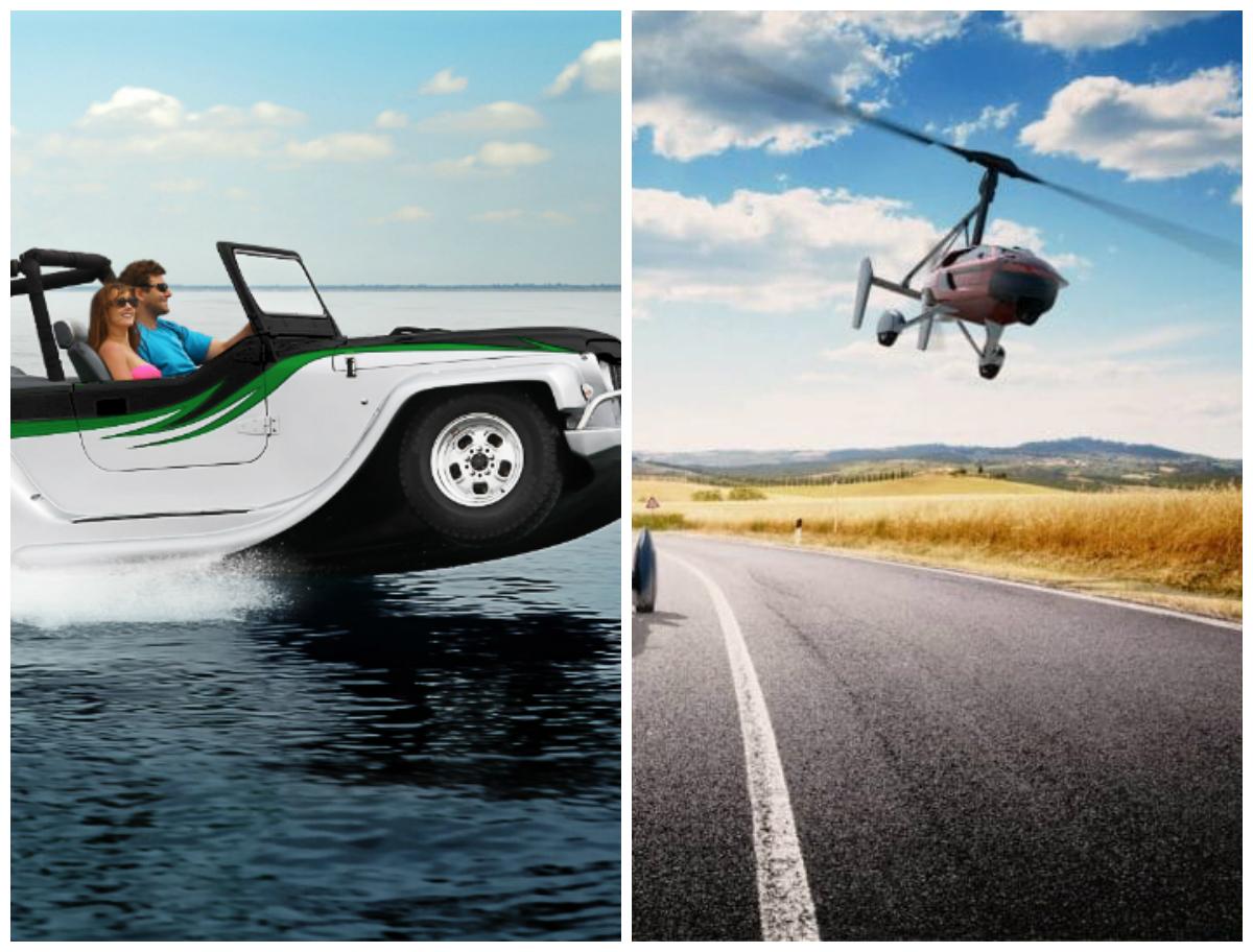 Best Future Car to buy in 2017 Flying Car Vs Water Car