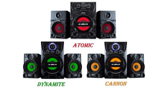 Harga Speaker Aktif Niko Slank - Atomic Dynamite Cannon