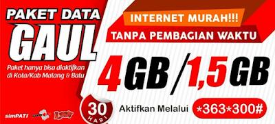 Cara Daftar Paket Internet TerMurah Telkomsel Simpati Februari-maret 2017