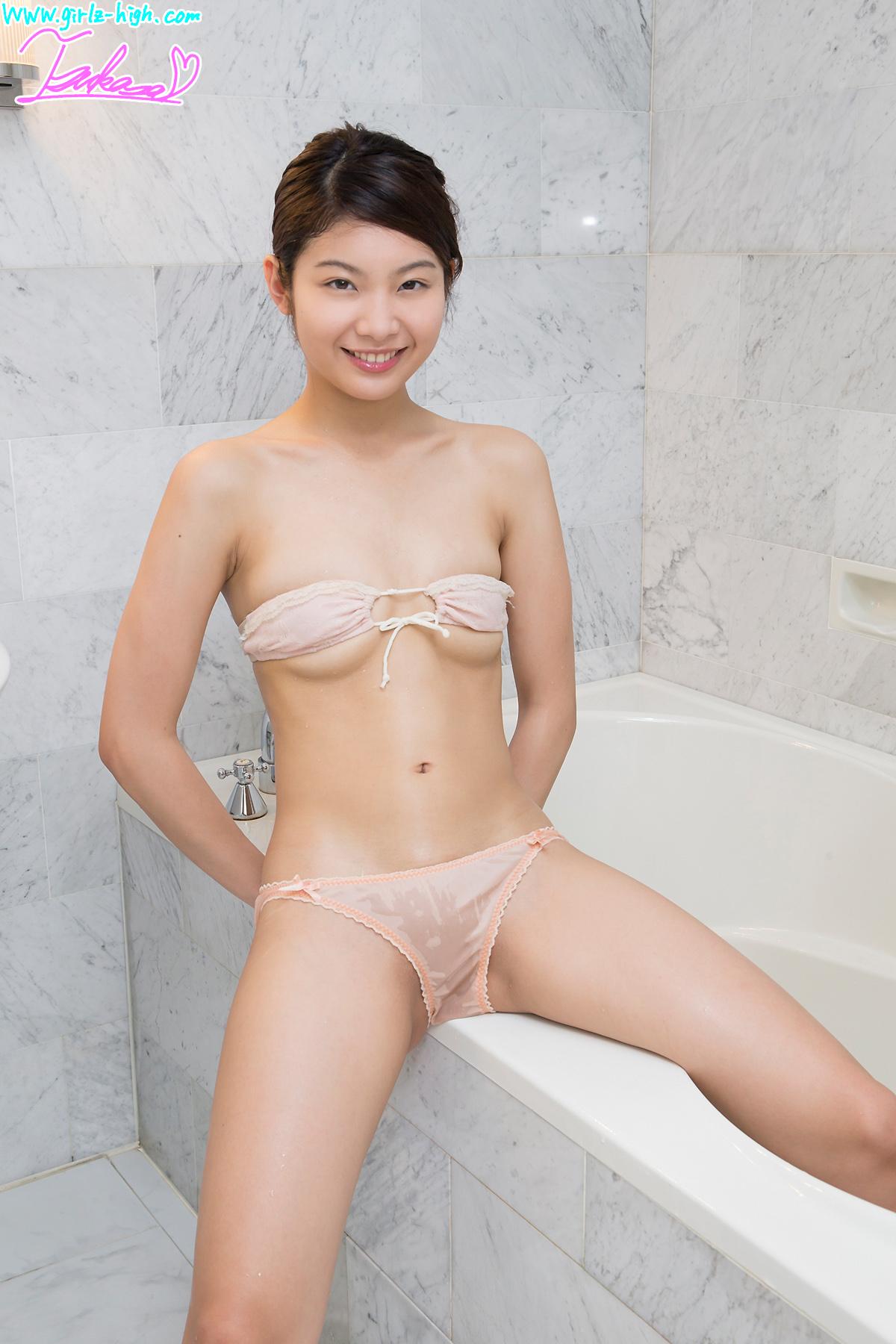 Tsukasa Kanzaki 神前つかさ Wet, Underboobs, See Through Junior ...