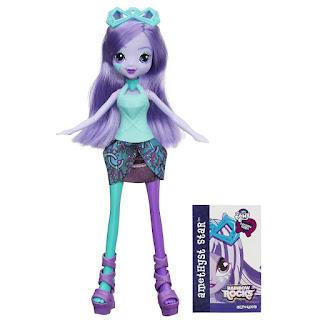 MLP Equestria Girls: Rainbow Rocks Amethyst Star Doll