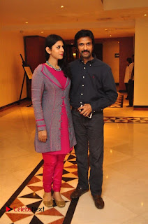 Aiswarya Rajinikanth Dhanush Standing on an Apple Box Launch Stills in Hyderabad  0032.jpg