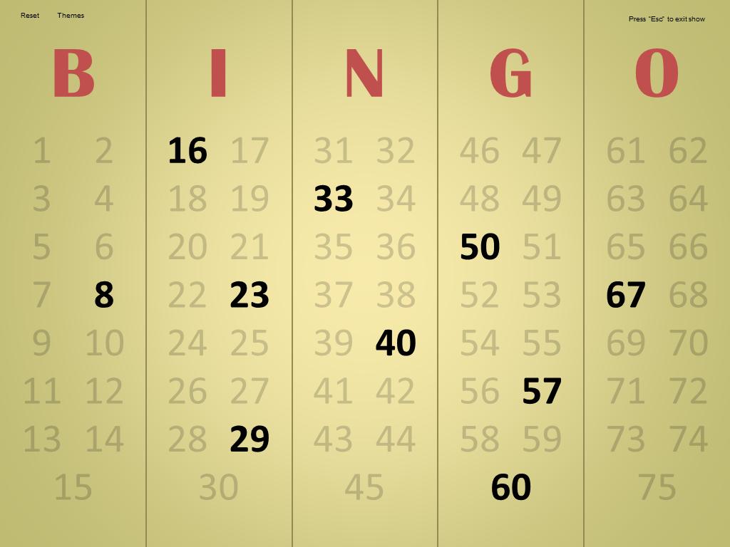 master - Bingo Master Board & Bingo Master Board PLUS Bingo1.7Screenshot