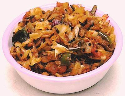 Spicy Garlic Cabbage Curry