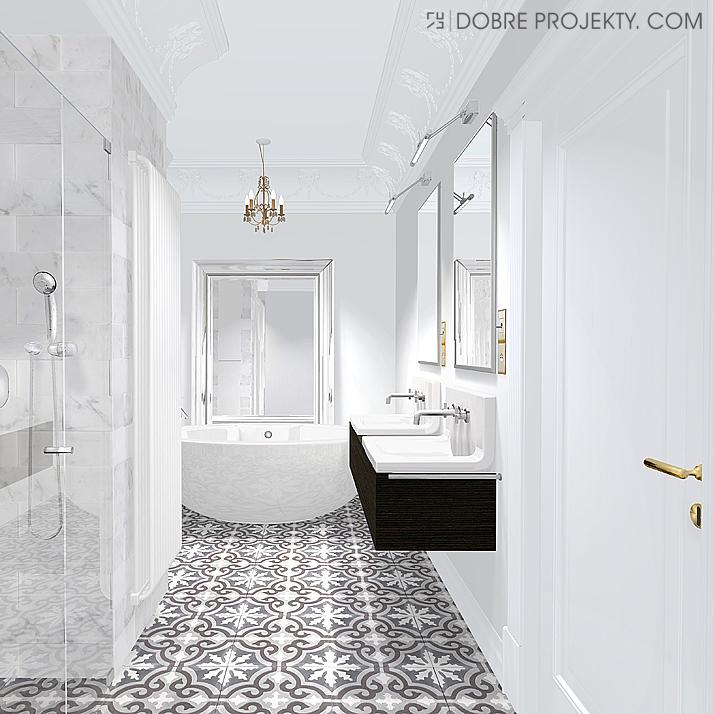 Dobre Projekty Blog łazienka Apartament Nadmorski Dwór