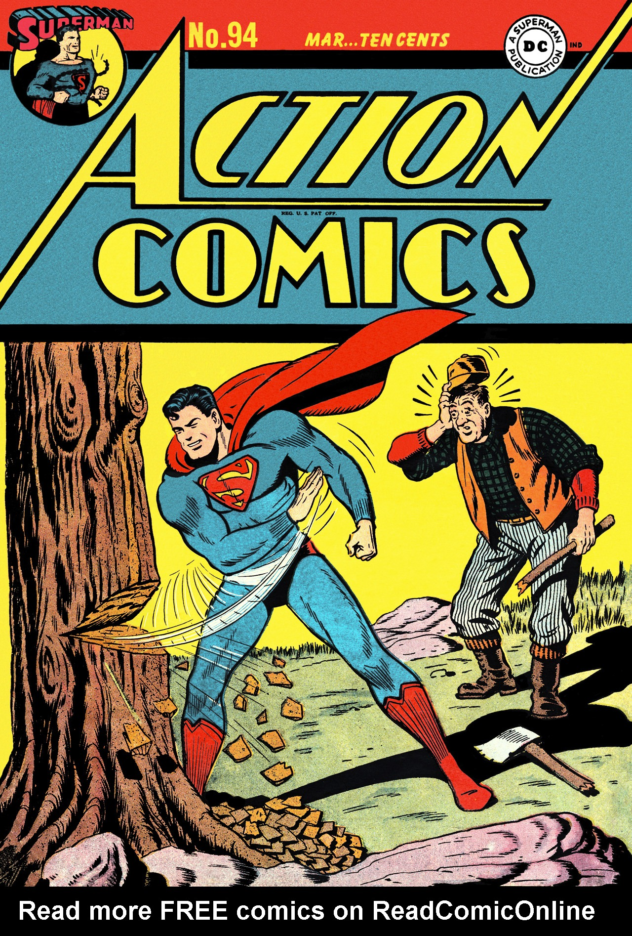 Action Comics (1938) 94 Page 1
