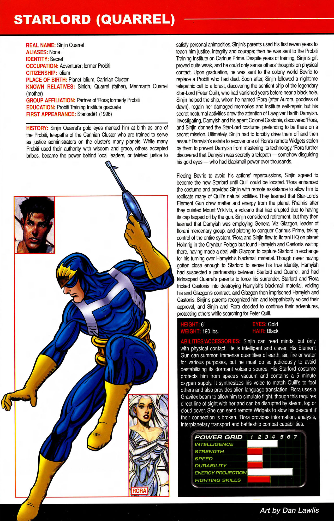 Read online All-New Official Handbook of the Marvel Universe A to Z comic -  Issue #10 - 58