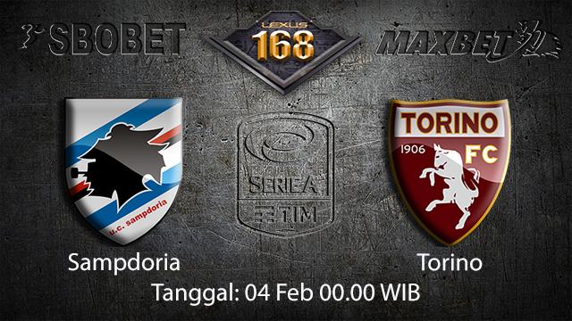 PREDIKSIBOLA - PREDIKSI TARUHAN BOLA SAMPDORIA VS TORINO 04 FEBRUARI 2018 ( ITALIAN SERIE A )