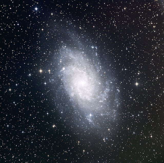 M33 - The Triangulum Galaxy imaged on ATEO-1 at LRGB 600 sec, 2x2 bin by Insight Observatory.