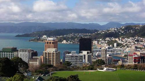 Cidade de Wellington - Nova Zelândia
