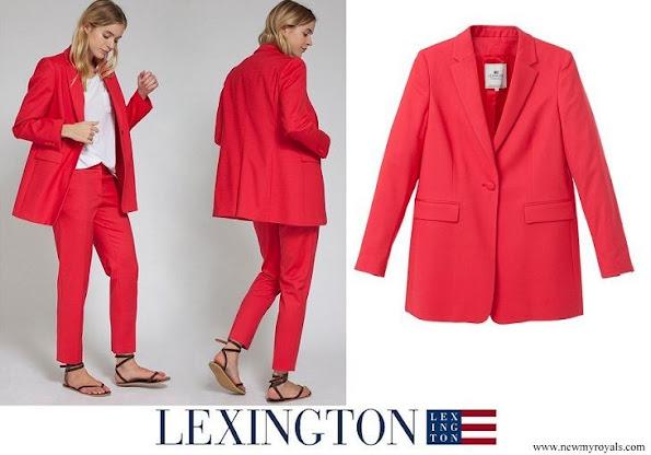 Crown Princess Victoria wore Lexington Company Frida Blazer