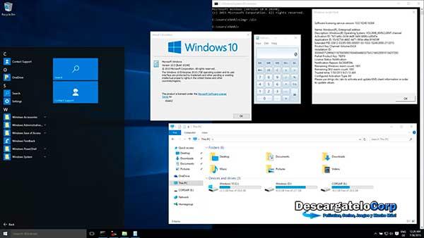 Windows 10 Enterprise 2016 LTSB 32 y 64 Bits Español