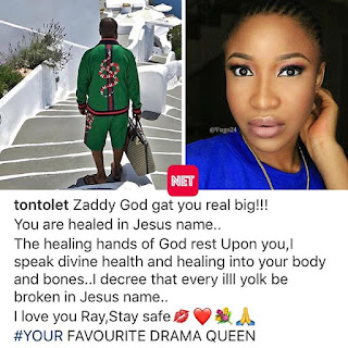 NEW COUPLE ALERT. TONTO DIKE (TONTOLET)  AND ZADDY