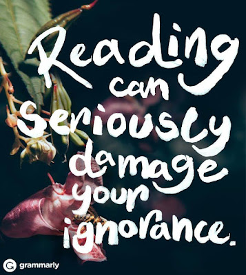 reading damages ignorance randomhouse FB community