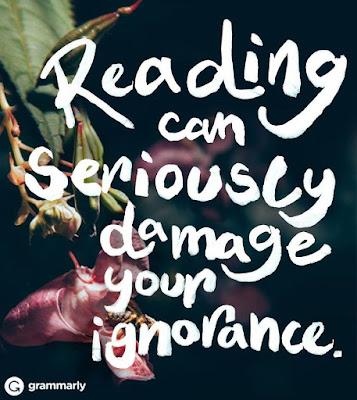 reading damages ignorance randomhouse FB community