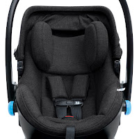 Clek Liing car seat has side impact protection