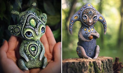 00-Maryana-Kopylova-Clay-Creatures-from-Fantasy-Worlds-www-designstack-co