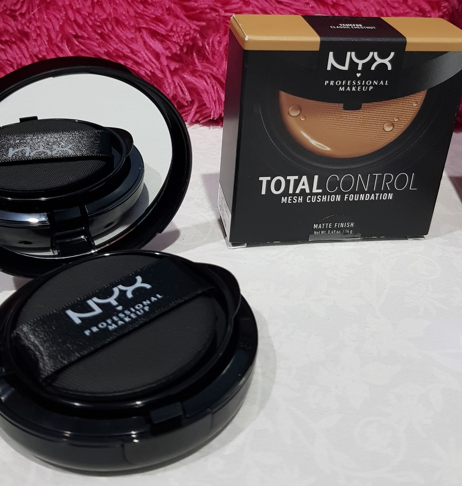 Review Nyx Total Control Mesh Cushion Foundation With Matte