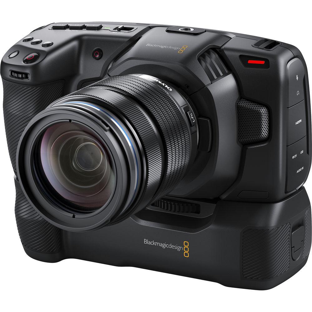 Blackmagic Pocket Cinema Camera 4K с батарейным блоком