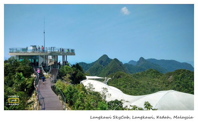 Malaysia: Langkawi SkyCab & Sky Bridge | Ramble and Wander
