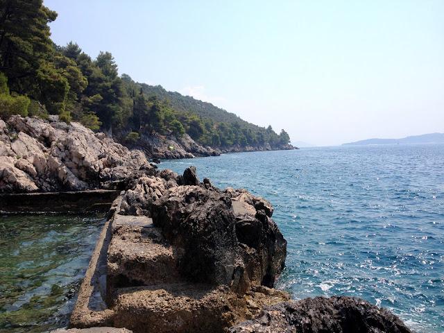Chorwackie morze latem