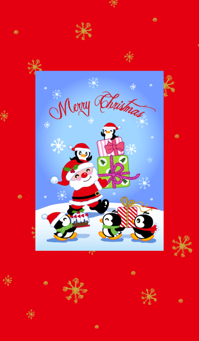 Merry Christmas - Little Penguin Gigi-2