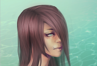 How To Paint Realistic Hair Step 8