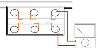 menentukan posisi terminal kontak hubung motor listrik